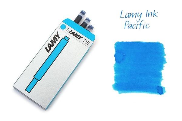 Bộ 5 ống mực Lamy màu xanh Pacific