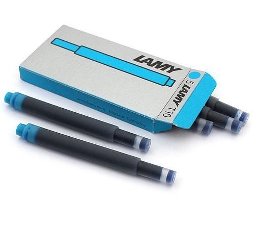 Bộ 5 ống mực Lamy màu xanh Pacific - T10