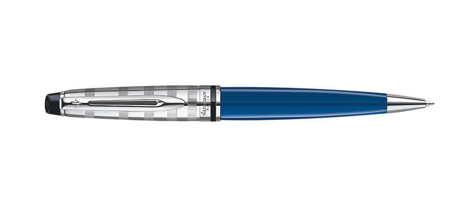 Bút Waterman EXPERT Deluxe Blue Ballpoint CT