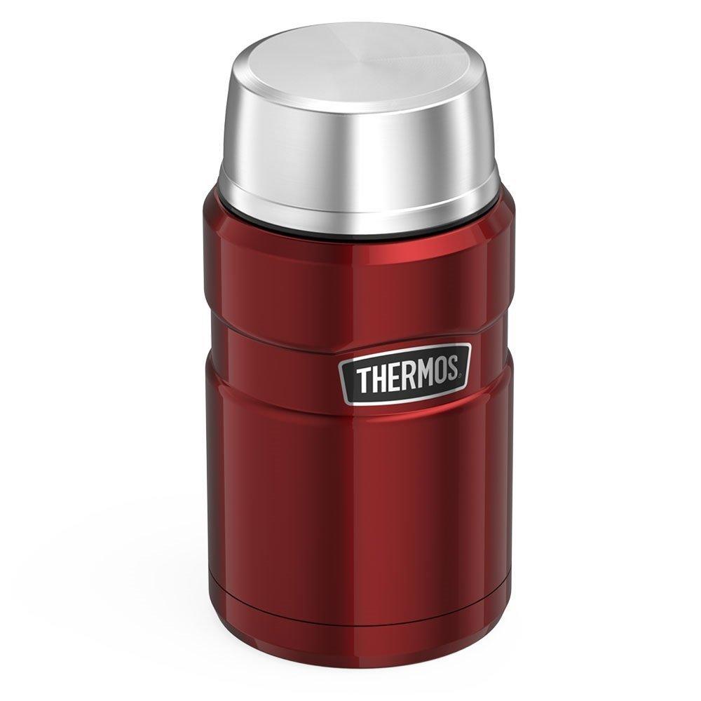 Hộp đựng thức ăn giữ nhiệt Thermos Stainless King Food Jar, Cranberry - 710ml
