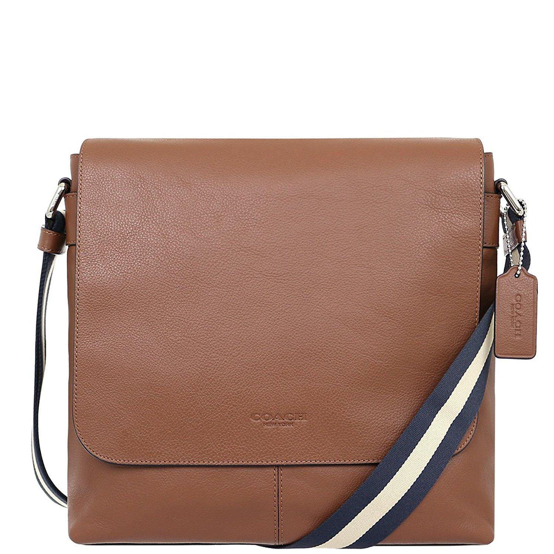 Túi Coach Charles Smaill Leather Messenger/Shoulder Bags F72362 CWH  - Chính hãng