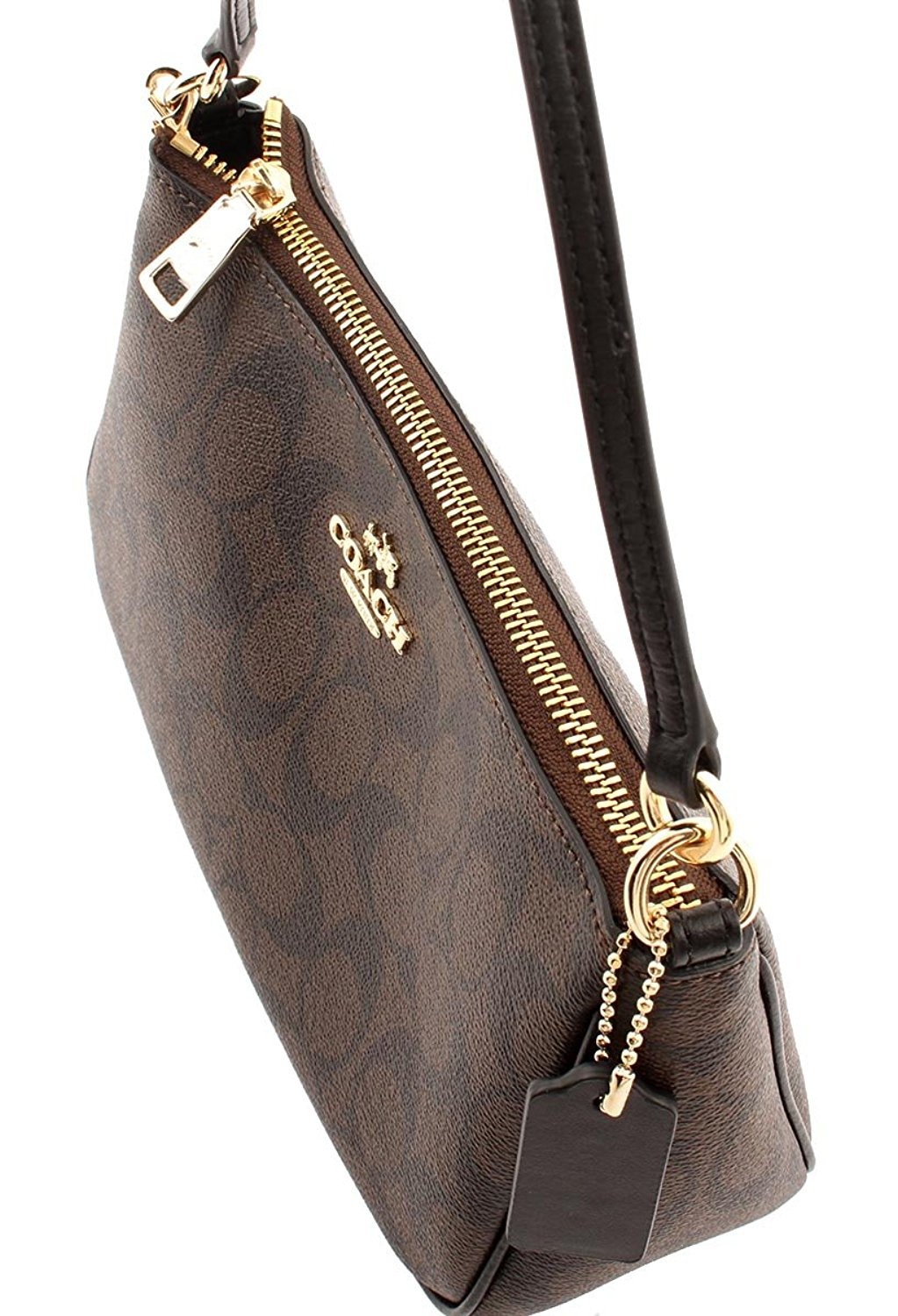 MESSICO TOP HANDLE POUCH IN SIGNATURE
