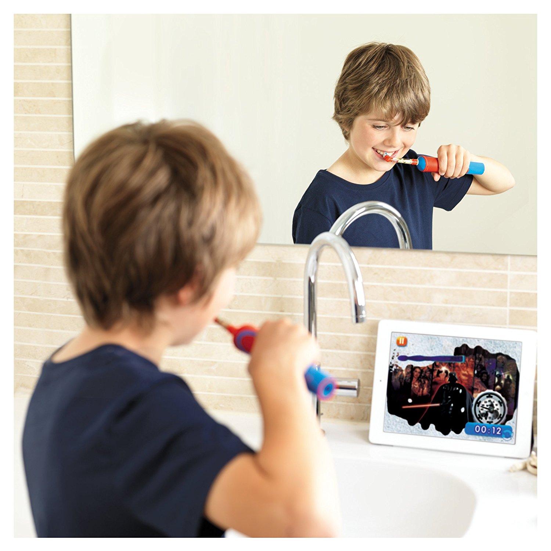 ứng ựng giúp trẻ đánh răng lâu hơn Disney MagicTimer