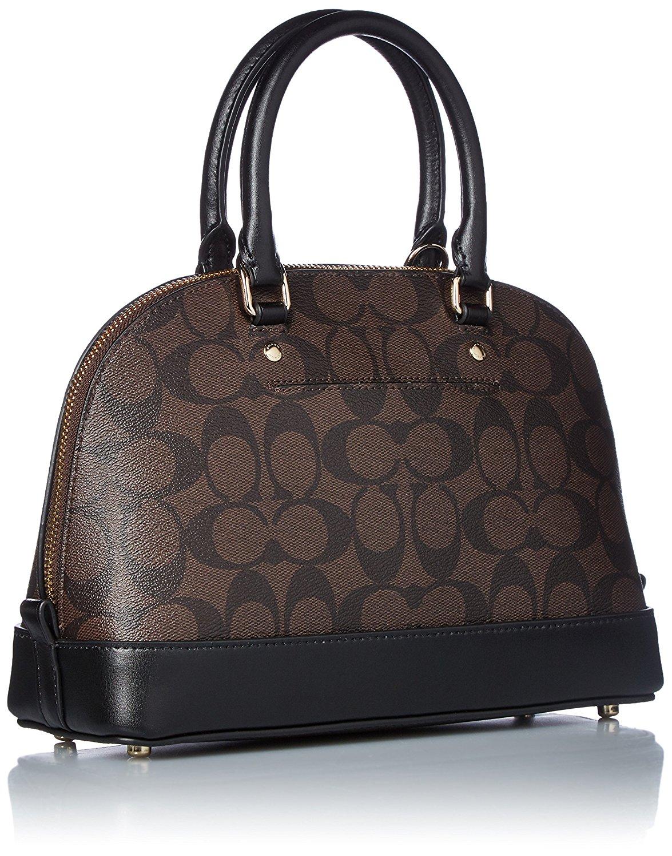 Túi Coach F57555 IMAA8 màu đen sử dụng chất liệu da cao cấp giúp bề mặt sản phẩm đẹp hơn, bền hơn và quan trọng là mang đến cho bạn sự sang trọng, quý phái, tự tin khi sử dụng sản phẩm.