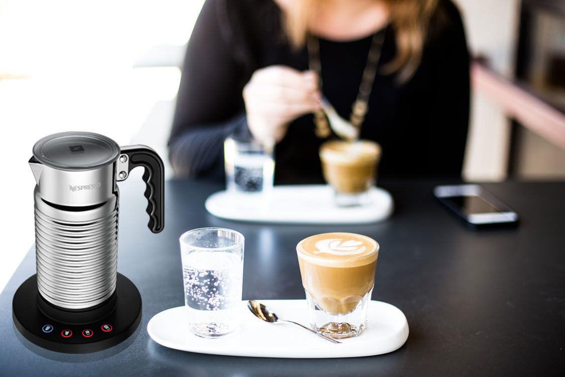 Máy đánh sữa Nespresso AEROCCINO4 MILK FROTHER WHITE