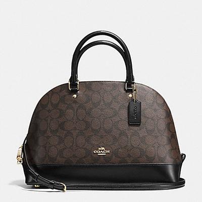 Túi Coach shoulder bag gold Black F57555 IMAA8  - Chính hãng