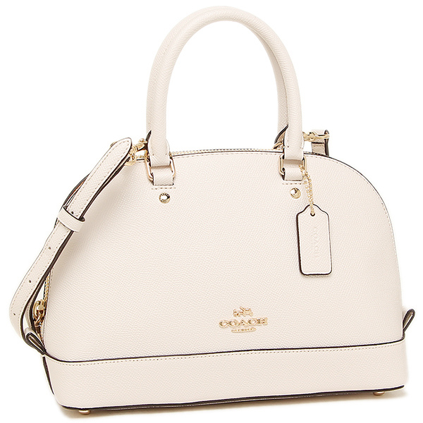 Túi Coach shoulder bag gold white F57555 IMCHK  - Chính hãng