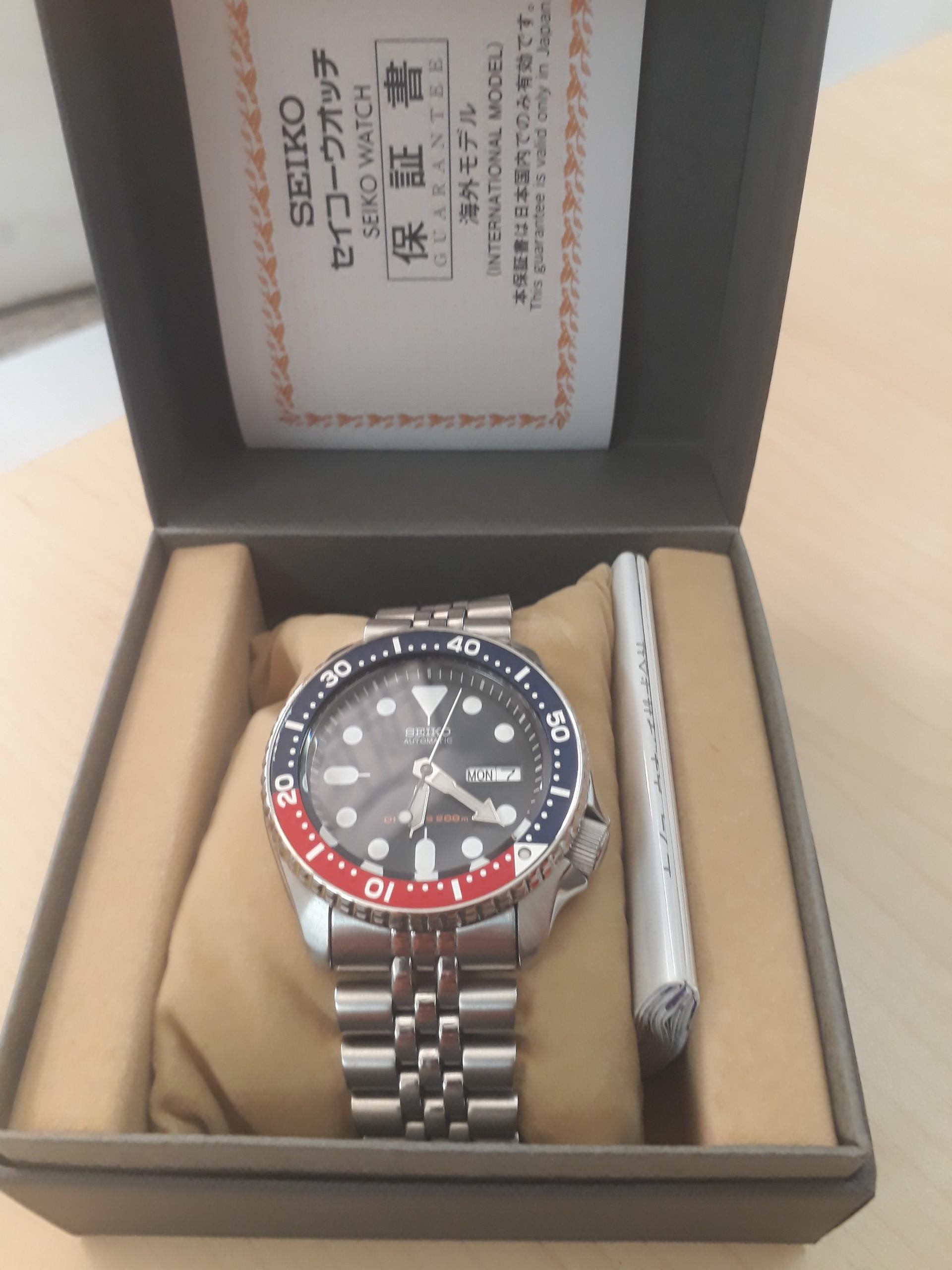 Đồng hồ Seiko SKX009KD - Nhập từ Nhật