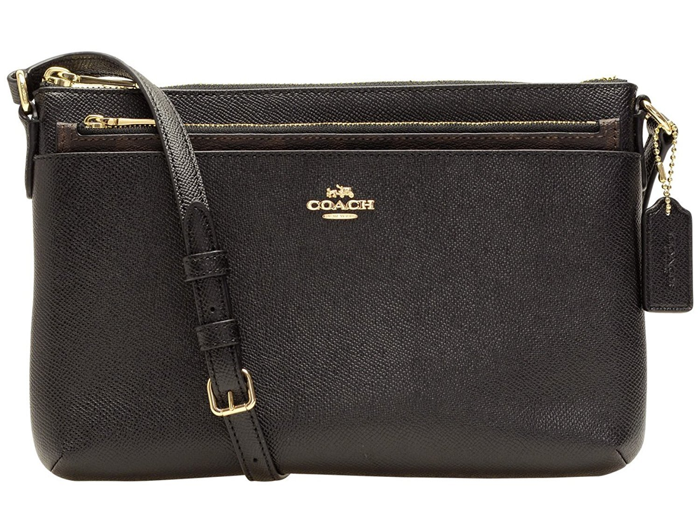 Túi xách Coach Crossbody Leather with Signature F57788 IMBLK - Chính hãng giúp bạn đựng được các vật dụng cần thiết và cho bạn một phong cách thời trang