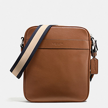 Túi Coach Mens Leather Shoulder Crossbody Flight Bag F54782 CWH - Chính hãng