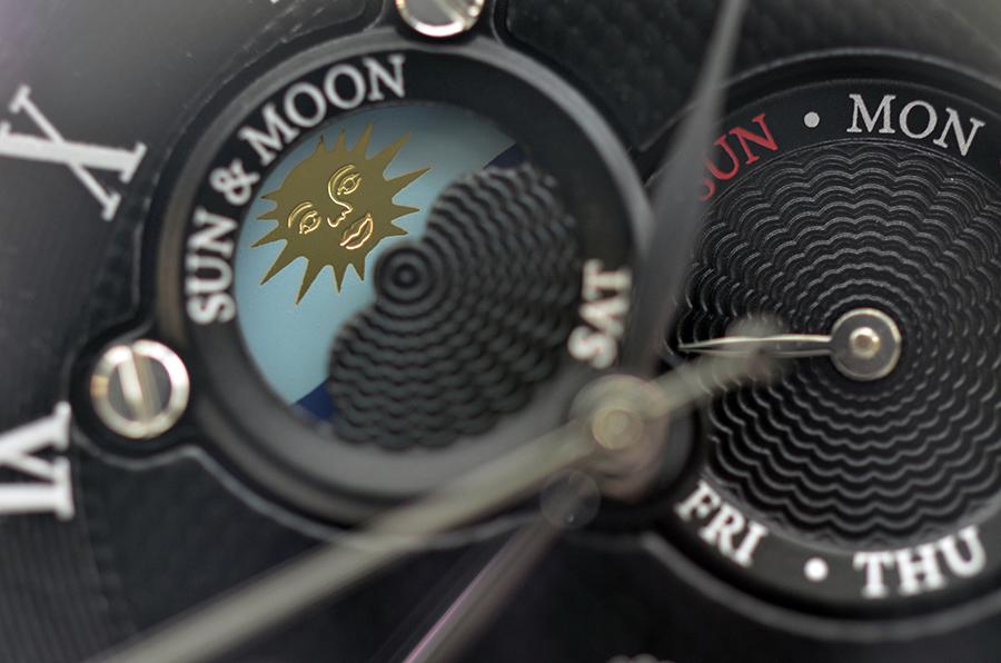 Orient Sun And Moon II SET0T004D0 mang vẻ đẹp như một bức tranh nghệ thuật