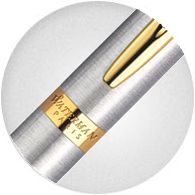 cài bút Waterman S0920390 Hemisphere được dát vàng 23k