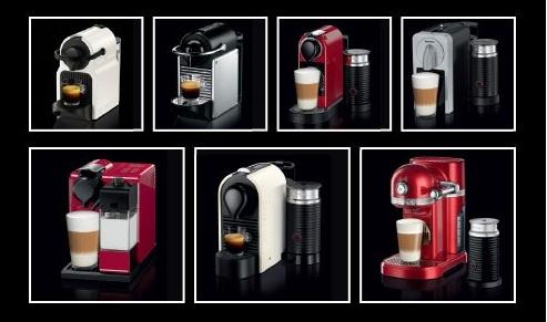 Các dòng máy cà phê Nespresso
