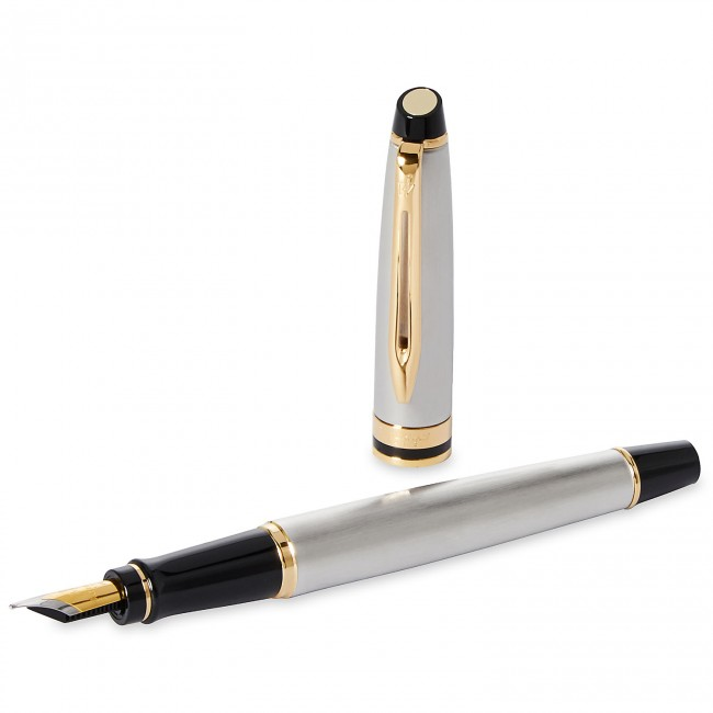 Bút Waterman EXPERT Stainless Steel Fountain Pen GT