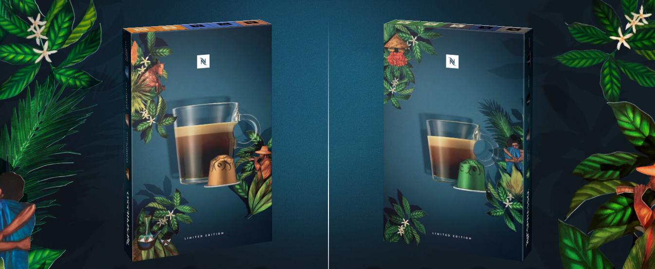 Nespresso ARABICA HARRAR và ROBUSTA UGANDA